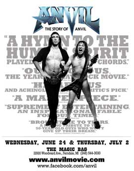 Anvil! The Story of Anvil - 27 x 40 Movie Poster - Style B