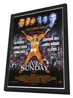 Any Given Sunday - 27 x 40 Movie Poster - Style A - in Deluxe Wood Frame
