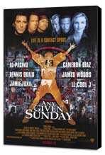 Any Given Sunday - 11 x 17 Movie Poster - Style A - Museum Wrapped Canvas