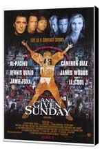 Any Given Sunday - 27 x 40 Movie Poster - Style A - Museum Wrapped Canvas