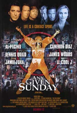 Any Given Sunday - 11 x 17 Movie Poster - Style A