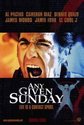 Any Given Sunday - 27 x 40 Movie Poster - Style B
