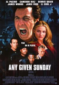 Any Given Sunday - 43 x 62 Movie Poster - Bus Shelter Style A