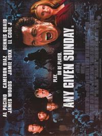 Any Given Sunday - 30 x 40 Movie Poster - Style A