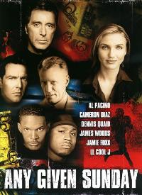 Any Given Sunday - 27 x 40 Movie Poster - Style D