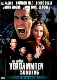 Any Given Sunday - 11 x 17 Movie Poster - German Style A