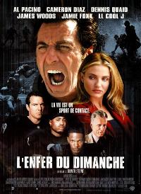 Any Given Sunday - 43 x 62 Movie Poster - French Style A