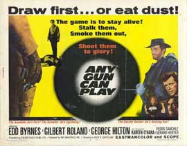 Any Gun Can Play - 11 x 14 Movie Poster - Style A