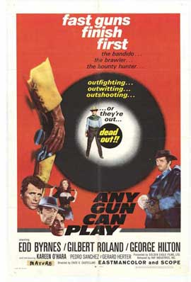 Any Gun Can Play - 11 x 17 Movie Poster - Style A