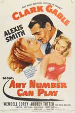 Any Number Can Play - 27 x 40 Movie Poster - Style A