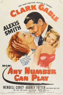 Any Number Can Play - 11 x 17 Movie Poster - Style A