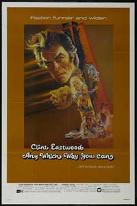 Any Which Way You Can - 43 x 62 Movie Poster - Bus Shelter Style A