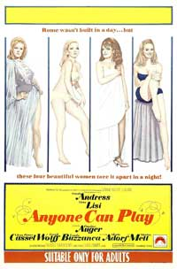Anyone Can Play - 11 x 17 Movie Poster - Style B