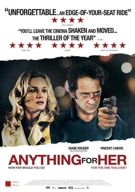 Anything for Her - 43 x 62 Movie Poster - Bus Shelter Style B