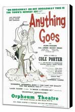 Anything Goes (Broadway) - 11 x 17 Poster - Style A - Museum Wrapped Canvas