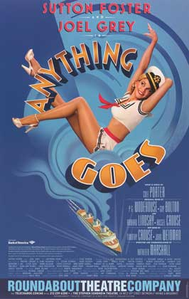 Anything Goes (Broadway) - 14 x 22 Poster - Heavy Stock
