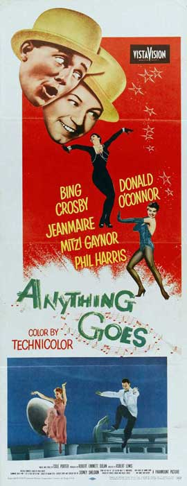 Anything Goes - 14 x 36 Movie Poster - Insert Style A