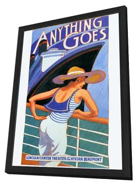 Anything Goes (stage play) - 27 x 40 Movie Poster - Style A - in Deluxe Wood Frame