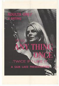 I'll Try Anything Once - 11 x 17 Movie Poster - Style A