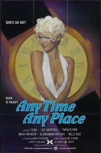 Anytime Anyplace - 11 x 17 Movie Poster - Style A