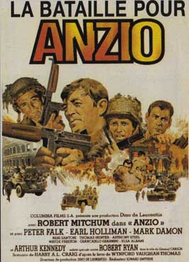 Anzio - 11 x 17 Movie Poster - French Style A