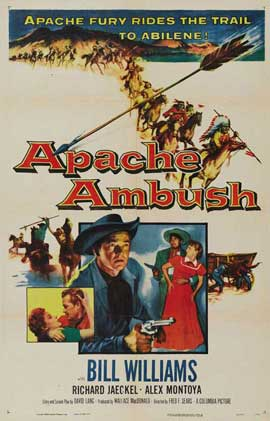 Apache Ambush - 11 x 17 Movie Poster - Style A