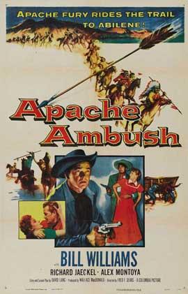 Apache Ambush - 27 x 40 Movie Poster - Style A