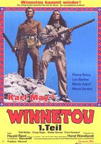 Apache Gold - 11 x 17 Movie Poster - German Style C