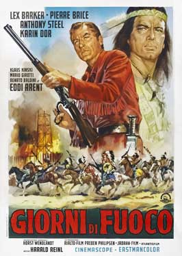 Apache Gold - 27 x 40 Movie Poster - Italian Style A