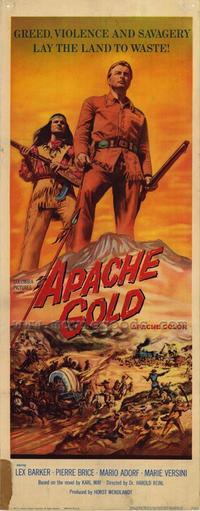 Apache Gold - 14 x 36 Movie Poster - Insert Style A
