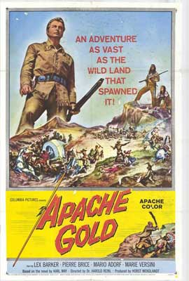 Apache Gold - 27 x 40 Movie Poster - Style A
