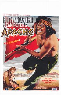 Apache - 11 x 17 Movie Poster - Belgian Style A