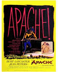 Apache - 27 x 40 Movie Poster - Style A