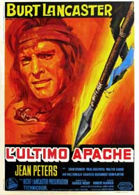 Apache - 11 x 17 Movie Poster - Italian Style A