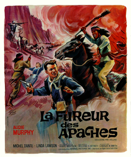 Apache Rifles - 27 x 40 Movie Poster - French Style A