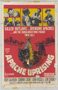 Apache Uprising - 11 x 17 Movie Poster - Style A