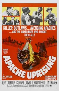 Apache Uprising - 11 x 17 Movie Poster - Style B