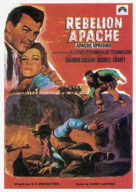 Apache Uprising - 27 x 40 Movie Poster - Spanish Style A