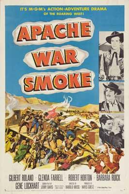 Apache War Smoke - 11 x 17 Movie Poster - Style A