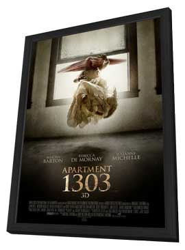 Apartment 1303 3D - 27 x 40 Movie Poster - Style A - in Deluxe Wood Frame