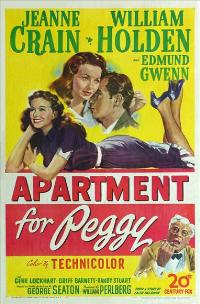 Apartment for Peggy - 11 x 17 Movie Poster - Style A
