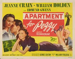 Apartment for Peggy - 22 x 28 Movie Poster - Half Sheet Style A