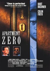 Apartment Zero - 11 x 17 Movie Poster - Style B