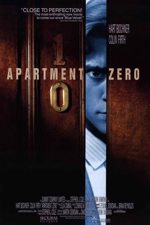 apartment zero movie posters from movie poster shop