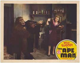 The Ape Man - 11 x 14 Movie Poster - Style B