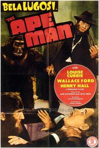 The Ape Man - 43 x 62 Movie Poster - Bus Shelter Style A