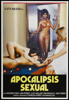 Apocalipsis Sexual - 11 x 17 Movie Poster - Spanish Style A