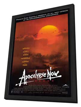 Apocalypse Now - 27 x 40 Movie Poster - Style A - in Deluxe Wood Frame