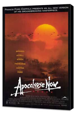 Apocalypse Now - 27 x 40 Movie Poster - Style A - Museum Wrapped Canvas