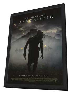 Apocalypto - 11 x 17 Movie Poster - Style A - in Deluxe Wood Frame